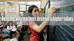 8 Reasons Why Teachers Deserve A Higher Salary   U2013 Guro Ako