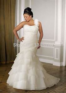 2015 new designer sweetheart ruched white ivory organza With ruched mermaid wedding dress