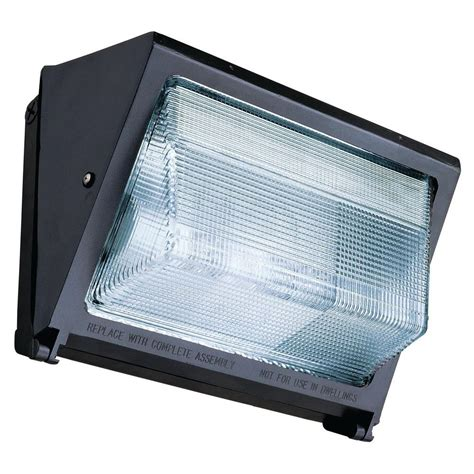 hps light fixture home depot lithonia lighting 150 watt outdoor bronze metal halide