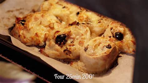 pizza hervé cuisine pizza roll d 39 hervé cuisine