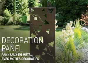 Decoration Murale Exterieur En Fer : decoration panel panneau en m tal nortene ~ Melissatoandfro.com Idées de Décoration