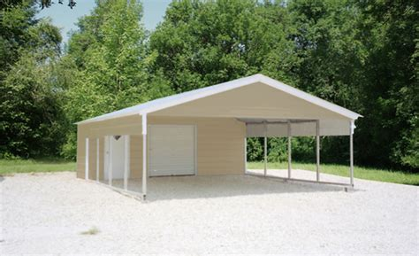Garage And Carport Combo Photo Gallery By Eversafe Buildings