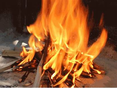 Fogo Fire Campfire Gifs Build Open Lasts