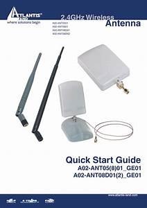 A02-ant0801 Manuals