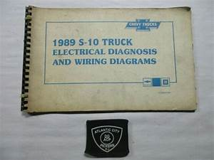1989 Chevrolet Chevy S 1truck Electrical Diagnosis And Wiring Diagrams Manual S T Truck Models