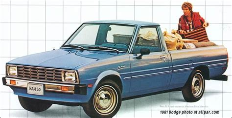 dodge ram  mitsubishi built compact pickup
