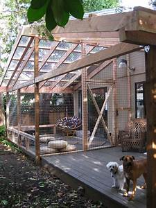 Best 25 cat fence ideas on pinterest dog jumping fence for Dog fence enclosure