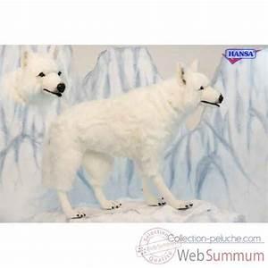 Bébé Loup Blanc : loup blanc 4 pattes anima dans toutes les peluches anima ~ Farleysfitness.com Idées de Décoration