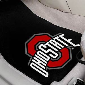 Fanmatsr 10301 ohio state university logo on embroidered for Ohio state floor mats