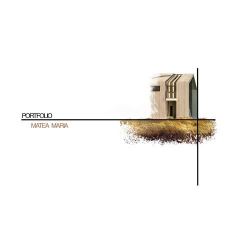 Architecture Portfolio By Maria Matea Issuu