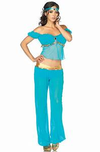 Sexy Arabian Beauty Aladdin Adult Halloween Costume | eBay