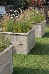 Bac En Bois Pour Plantes : construire des bacs pour des fleurs avec du bois de ~ Dailycaller-alerts.com Idées de Décoration