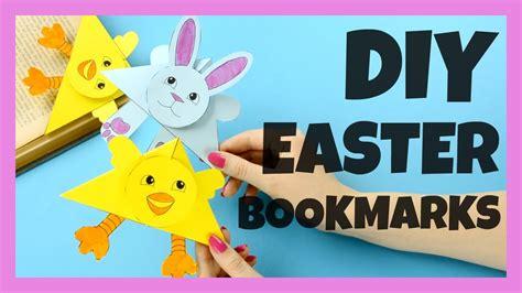 easter chick  bunny corner bookmarks corner bookmark