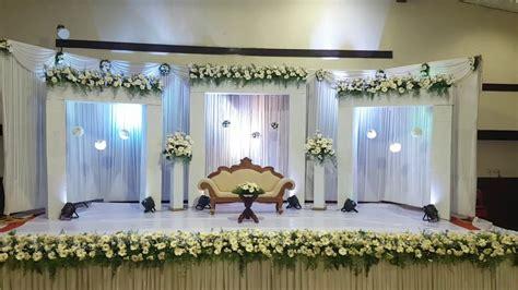 wedding decoration  trivandrum reception wedding stage
