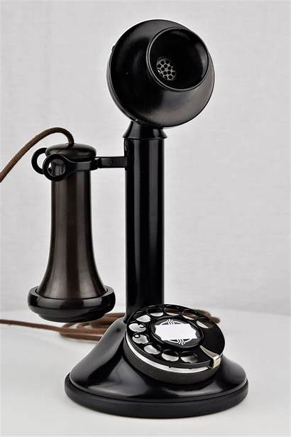 Type Automatic Electric Phone Candlestick Antique Oldphoneworks