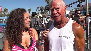 80 Year Old Bodybuilder Jim Arrington At Muscle Beach Competition 9  3  12