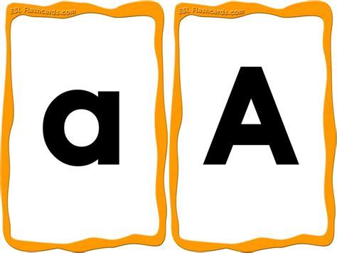 great set  upper  lowercase alphabet cards