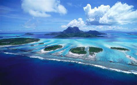Bora Bora Beautiful Island In French Polynesia Hd