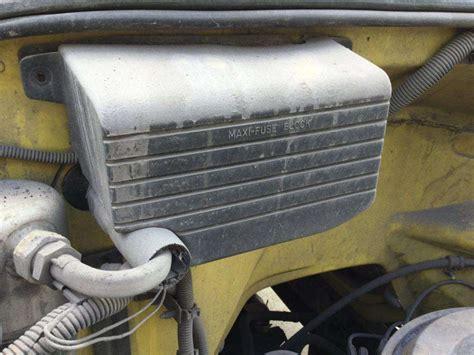 Gmc Topkick Fuse Box by 1991 Gmc Topkick Fuse Box For Sale Spencer Ia