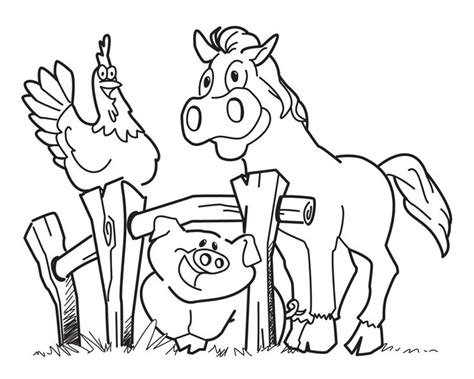 best 25 farm animals for ideas on farm 452 | e81f70436cf21744ac9d291d56a302ae farm coloring pages preschool coloring pages