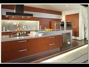 quotmodele cuisinequot amenagee style idee deco 2014 youtube With modele de cuisine amenagee