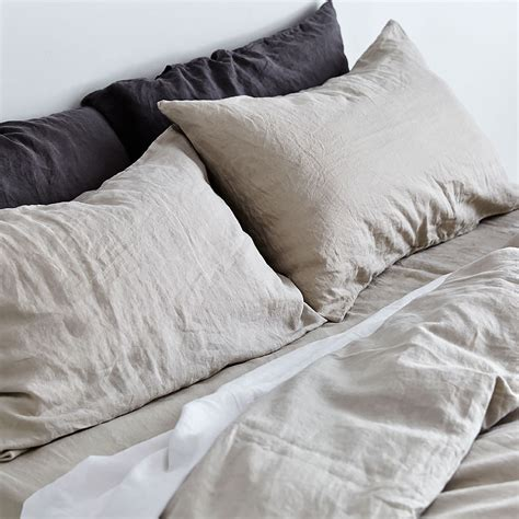 Top3 By Design  In Bed  In Bed Pillowcase Linen Pair