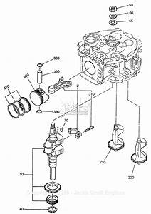 Robin  Subaru Eh30v Parts Diagram For Crankshaft  Piston