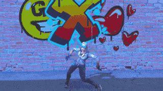 orange justice fortnite dance gif