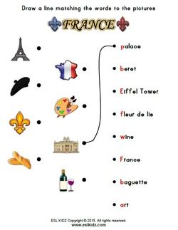 activities and worksheets for 261 | france1