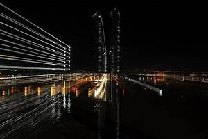 Bordeaux pont Chaban Delmas photography digital by Michel Versepuy  Art Limited