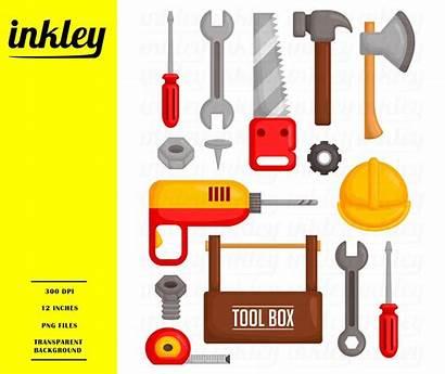 Clipart Tool Toolbox Clip Tools Carpentry Hammer