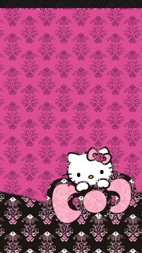 Hello Animal Print Wallpaper - pink hello background 64 images