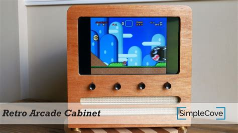 beautiful wood arcade cabinet with raspberry pi piday