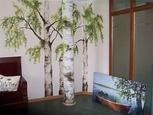 Baum An Wand Malen : 41 coole wandbilder ~ Frokenaadalensverden.com Haus und Dekorationen