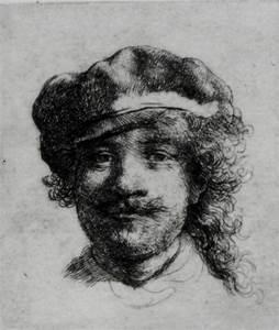 Rembrandt, Self-Portrait, ca. 1634 | Stephen Kurkjian