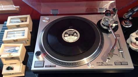 The Edison Diamond Disc Record - YouTube