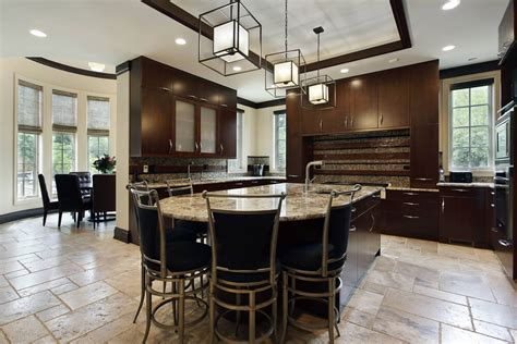 luxury kitchen island 32 luxury kitchen island ideas designs plans