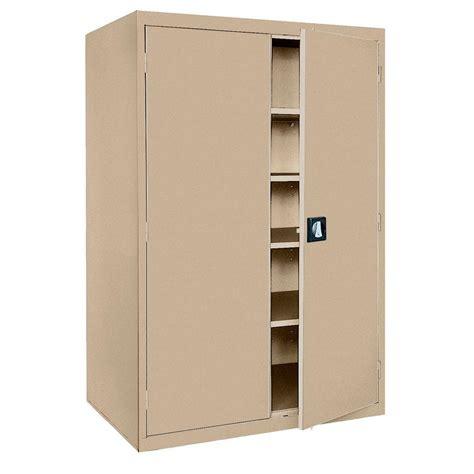 sandusky storage cabinet 72 sandusky elite series 72 in h x 46 in w x 24 in d 5