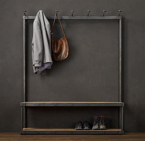 coat rack bench restoration hardware right gillian gillies s