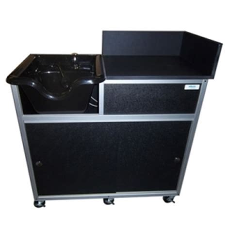 pse  portable shampoo sink  extended cabinet