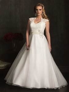 plus size vintage inspired wedding dress with With wedding gowns for plus size