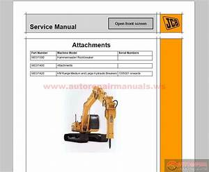 Jcb Compact Service Manuals Kg S3a Issue50