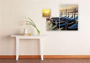 Glasbild 3 Teilig : venezianische gondeln 3 teilig romantik f r ihr zuhause wall ~ Orissabook.com Haus und Dekorationen
