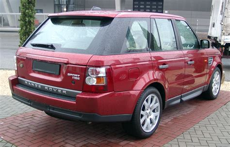 rang rover sport hse description range rover sport hse rear 20071231 jpg