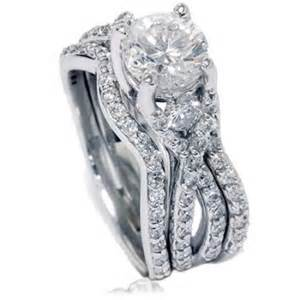 walmart engagement rings sets 1 70ct twist infinity real engagement ring wedding band set white gold walmart