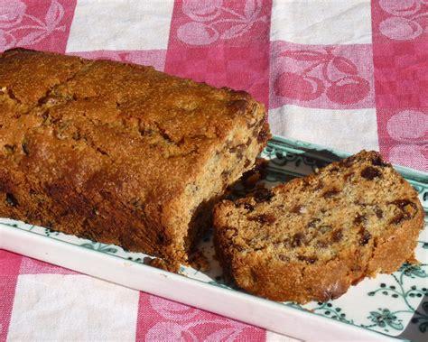 orange  sultana loaf cake