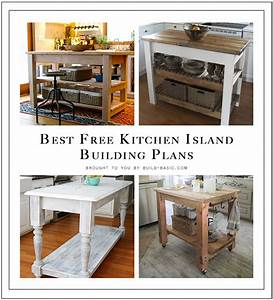 Best, Free, Kitchen, Island, Building, Plans, U2039, Build, Basic