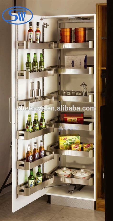 kitchen unit accessories sw 450 guangzhou pull out pantry unit stainless steel 3408