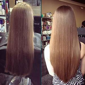 The V Cut Isnt Only Beautiful From The Back Hairstyles