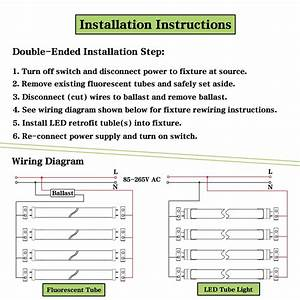 20 Complex Led Tube Wiring Diagram References  With Images
